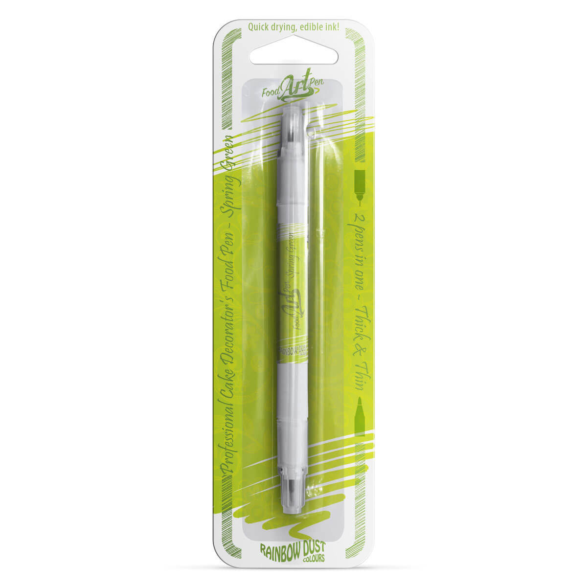 Rainbow Dust - Food Art Pen - Spring Green / Verde Limão