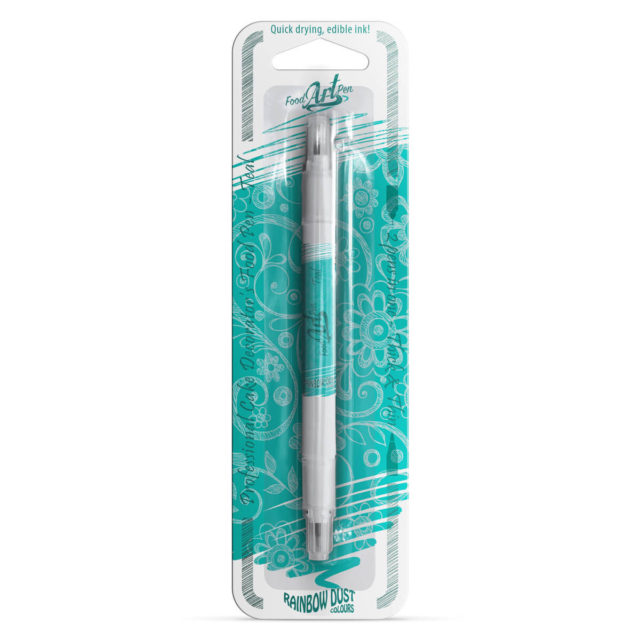 Rainbow Dust - Food Art Pen - Teal / Verde Azulado