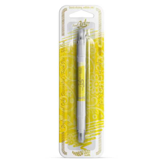 Rainbow Dust - Food Art Pen - Yellow / Amarelo
